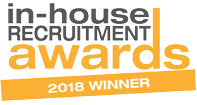 In house recruitment award 2018 logo