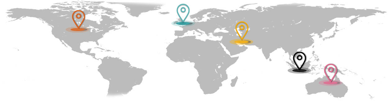 Impellam office locations around the world