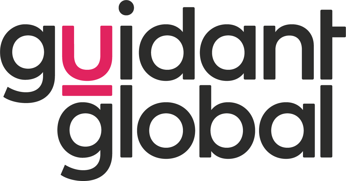 Guidant Global logo, colour
